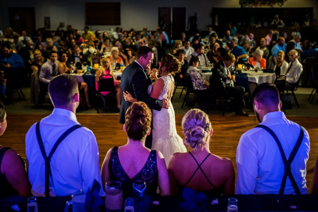 First dance at SNPJ Alpine Room in Enon Valley PA